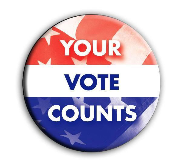 button Your Vote Counts round RWB-Stars